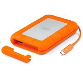 LaCie Rugged 1TB USB3.0 Thunderbolt  External Portable SSD (LAC9000602)