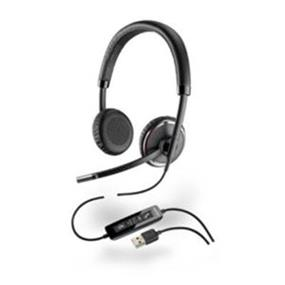 Plantronics Blackwire C520-M Headset - Stereo - Over-the-head - Noise Cancelling Microphone