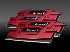 G.SKILL Ripjaws V Series 64GB (4x16GB) DDR4 DRAM 3200MHz C14 Quad Channel Memory Kit (F4-3200C14Q-64GVR)