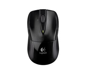Logitech M525 Wireless Mouse w/ Unifying Receiver - Black (910-002696)