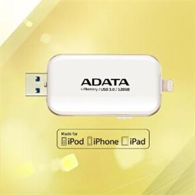 ADATA i-Memory Flash Drive UE710- 32GB - White