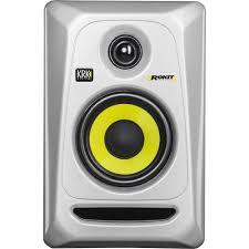 "KRK Rokit 4 G3 30W 4"" Two-Way Active Studio Monitor (Single, Black) Generation 3"