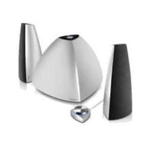 Edifier E3350BT Prisma 2.1 Bluetooth Speaker  (Silver)