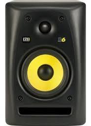 "KRK R6 - 6"" Two-Way Passive Studio Monitor (Single)"