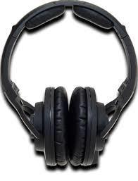 KRK KNS 8400 Closed-Back Around-Ear Stereo Headphones