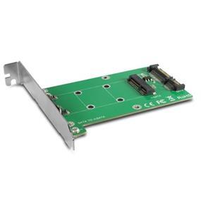 Vantec Multi-size mSATA to SATA III Converter Kit Solid State Drive(UGT-MST110)