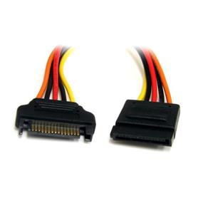 StarTech 15 Pin SATA Power Extension Cable - 12in (SATAPOWEXT12)