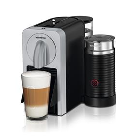 Nespresso Prodigio Espresso Maker with Aeroccino Milk Frother - Silver (D75-US-SI-NE)