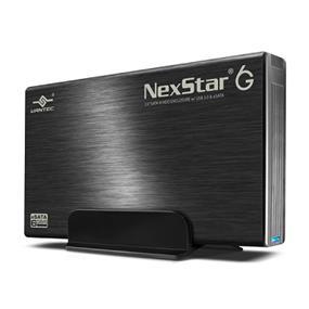 """Vantec NexStar 6G 3.5"""" SATA 6Gb/s to USB 3.0/eSATA HDD Enclosure (NST-366SU3-BK)"""