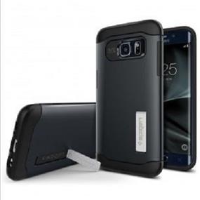 Spigen Slim Armor Case for Samsung Galaxy S7 Edge - Metal Slate