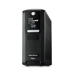 CyberPower LX1100G PC Battery Backup, 1100VA / 660W, AVR, 10 OL, RJ11/ RJ45, 890J, coax, LCD