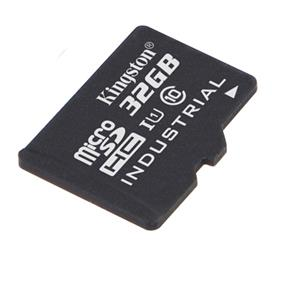 Kingston microSDHC 32GB Class 10 UHS-I Industrial Temp Card + SD Adapter Read:90MB/s; Write:45MB/s (SDCIT/32GB)