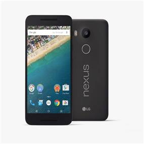 "LG Nexus 5X - 5.2"" Unlocked Smartphone - Black (Recertified - Good Condition)"