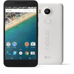 "LG Nexus 5X - 5.2"" Unlocked Smartphone - White (Recertified - Good Condition)"