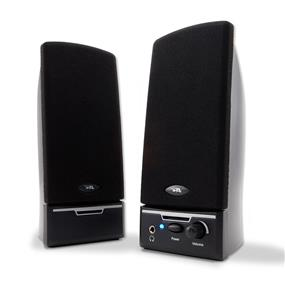 Cyber Acoustics CA-2014 2.0 Speaker System 4W RMS Black (CA-2014WB)