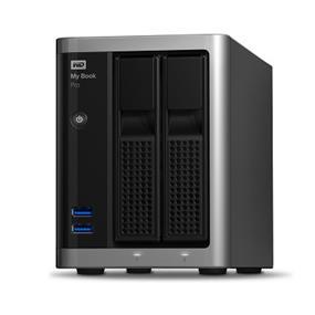 WD My Book Pro 16TB Desktop RAID External Hard Drive - Thunderbolt 2 - USB 3.0 - WDBDTB0160JSL-NESN