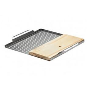 Napoleon 70027 - Multifunctional Grill Topper with Cedar Plank