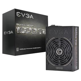 EVGA SuperNOVA 1600T2 1600W Titanium Fully Modular 10 Year Warranty Power Supply (220-T2-1600-X1)