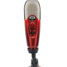 CAD U37 - USB Studio Condenser Recording Microphone (Candy Apple Red)