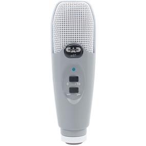 CAD U37 - USB Studio Condenser Recording Microphone (Gray)