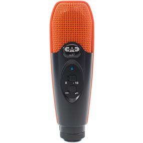 CAD U37 - USB Studio Condenser Recording Microphone (Orange/Black)