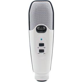 CAD U37 - USB Studio Condenser Recording Microphone (White)