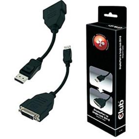 Club 3D UltraAV Display Port to a Passive Single Link DVI-D Adapter (CAC-1000)