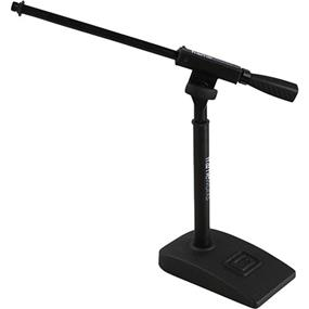 Gator Frameworks GFW-MIC-0821 - Kick Drum / Amplifier Compact Mic Stand with Single Section Boom