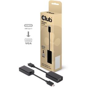Club 3D USB 3.1 Type C to VGA Adapter (CAC-1502)