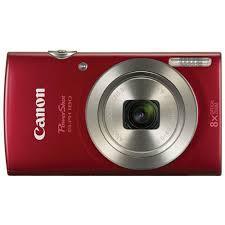 Canon PowerShot ELPH 180 Digital Camera (Red)