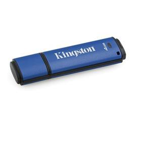 Kingston 4GB USB 3.0 DTVP30 256bit AES FIPS 197 (Management Ready)