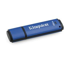 Kingston 16GB USB 3.0 DTVP30 256bit AES FIPS 197 (Management Ready)