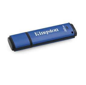 Kingston 32GB USB 3.0 DTVP30 256bit AES FIPS 197 (Management Ready)