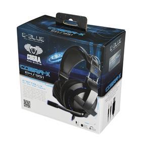 E-Blue Gaming Cobra Advance Lightening Gaming Headset (EHS951BKAA-IY)