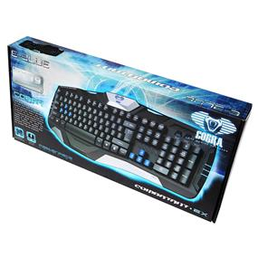 E-Blue Cobra EKM739 Floating Gaming Keyboard (EKM739BKUS-IU)