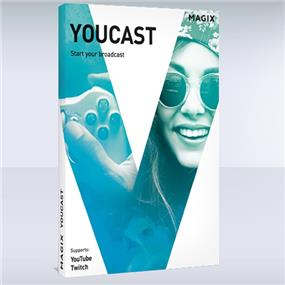 Free Software MAGIX Youcast & Movie Edit Pro 2016 & Samplitude Music Studio 2016 with purchasing Intel Core i7 CPU, Limit 1 Per Customer