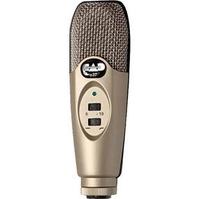 CAD U37 - USB Studio Condenser Recording Microphone (Champagne)