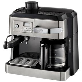 DeLonghi BCO330T - Combination Steam Espresso & Drip Coffee with Programmable Timer - Silver (BCO330T)