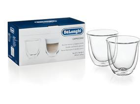 DeLonghi 5513214601 - Cappuccino Glasses - Set of 2