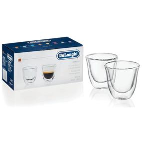 DeLonghi 5513214591 - Espresso Glasses - Set of 2