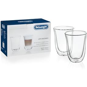 DeLonghi 5513214611 - Latte Glasses - Set of 2