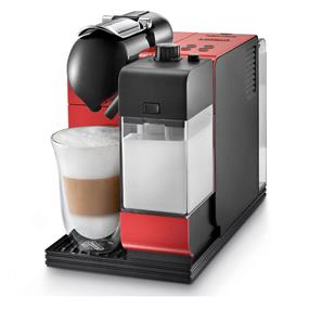 DeLonghi EN520RCA - Lattissima Plus Espresso/Cappuccino Machine - Red