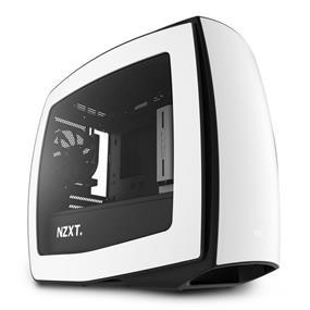 NZXT Manta Windowed Mini-ITX Case Matte White & Black (CA-MANTW-W1)