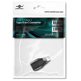 Vantec Accessory CB-3CA USB 3.1 Gen 1 Type A to C Converter Retail (CB-3CA)