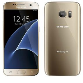 "Samsung Galaxy S7 - 5.1"" Unlocked Smartphone (Recertified -  Good) - Gold"