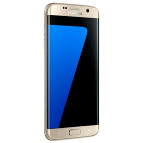 "Samsung Galaxy S7 Edge - 5.5"" Unlocked Smartphone (Recertified -  Good) - Gold"