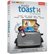 COREL Roxio Toast v.14.0 Titanium - Box Pack - 1 User - CD/DVD Authoring - Mini Box - DVD-ROM - Intel-based Mac - English, Japanese