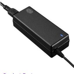 Cooler Master Watt 65W Universal Laptop Adapter (MPX-0651-M19YB-US )