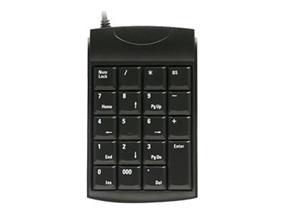 Unitech K19  USB  Black Keyboard (K19U)