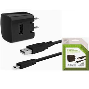 Delton 2-PC Home Charger Hit including Micro USB Cable-1A output